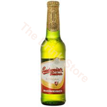 Picture of BUDWEISER 0.33L CZECH